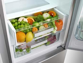 groente-lade-koel-vriescombinatie